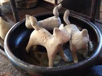 鍋ネコ? 強制乾燥中  アロマ香るネコになる予定(*^^*)
