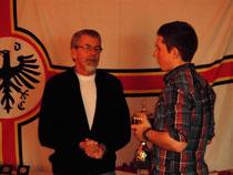Mein Trainer Peter Peters und ich