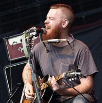 Ben Miller in Hamburg 2013 vor 5000 Zuhörern als Support von ZZ Top (Foto: Christian Düringer)