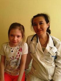 Гематолог-онколог Аубакирова Д.Б.