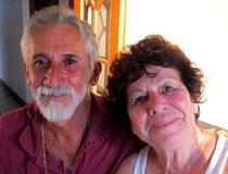 Nicea und Silvio - meine Gastgeber in Paraty