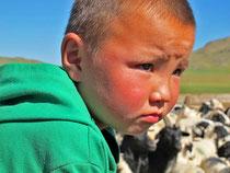 damit dieser Junge ein Nomade bleiben kann