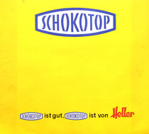 Heller Schokotop - Plakat um 1965.