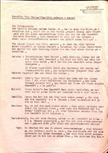 Sparkassen-Werbefilm-Script von Heinz Traimer (1960er Jahre).