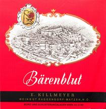 Bärenblut - E. Killmeyer. Weingut Raggendorf in Matzen
