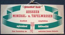 Auseer Mineral - u. Tafelwasser
