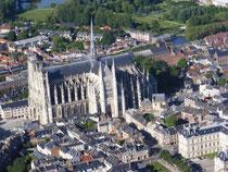 La cathédrale d'Amiens somme Picardie