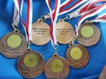 Une belle moisson de médailles !!!