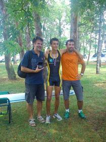 Paul et ses coachs (Arnaud et Baptiste)