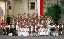 Musikkapelle Schenna beim 67. Arlberger Musikfest von 14. bis 16. Juli 2017 in Lech am Arlberg