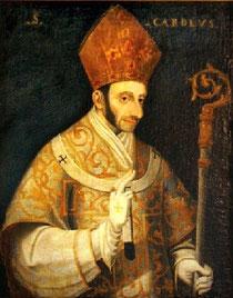 """""""Ritratto di San Carlo Borromeo"""", Lattuada, 1578 circa, Museo del Santuario Arcivescovile della Beata Vergine dei Miracoli di Corbetta"""