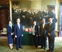 Die Vertreter Taiwans in Deutschland und die CDKWV-Delegation