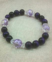 紫龍ブレスレット