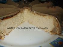Tarta de praliné y gelatina de café