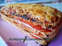 Lasaña de pan de molde