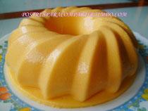 Pannacota de mango