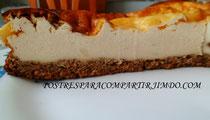 Tarta de queso y galleta Dukan