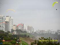 Skyline von Miraflores, Lima, Peru   -   Foto: Harald Petrul