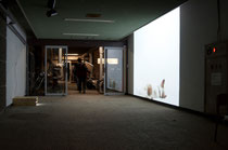installation view of 'breath' at Aichi University of the Arts