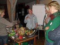 Konzentration beim  Vortrag von Christina Möller
