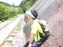 屋久島の大自然に感動中