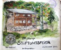 Hütte nach Umbau 1932