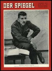Titelblatt des Spiegel vom 28. Mai 1958