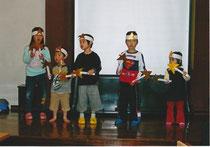 2008八事教会クリスマス祝会CS振付賛美