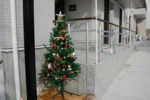 八事教会 クリスマスの飾り