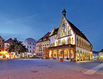 Glasstraße: Amberg Rathaus
