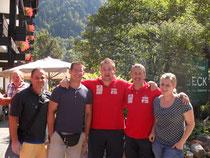 Foto Wolfurter KR mit den Ligatrainern