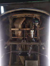 Underside of Martijn's T1 with a Rusty's R&P (bolt on) upgrade.