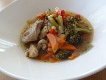 鶏肉と炒め野菜の煮込み
