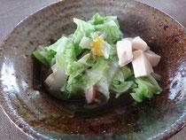 白菜と豆腐のさっと煮
