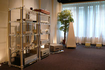 Ready for action: a variety of FM ACOUSTICS' units