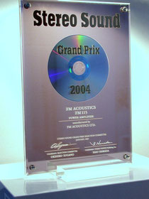 The Grand Prix of Stereo Sound has been awarded to the...FM 115