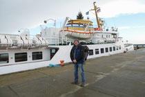 Ankunft auf Helgoland