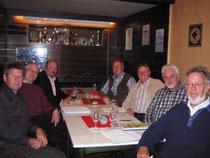 Die Gründungsmitglieder des TT-FV-Geseke