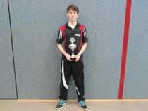Pascal gewann die Jungen-Kreisrangliste