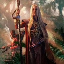 Aëlwenn Madenn, la dame Blanche - CELTIC FAIRY'S du Nord - Elément Feu