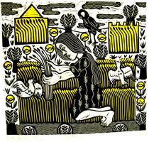 Karl Heinz Grage Bilder aus dem Alten Testament, Linolschnitte