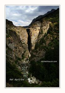 """Ubaye """"Pont du chatelet"""" Réf : Alp12 014"""