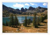 Lac d'Allos 1. Réf : Alp12 004
