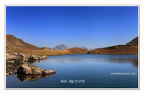 Lac de l'Oule 1. Réf : Alp12 019