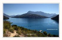 Lac de Serre Ponçon 1 Réf : Alp12 017