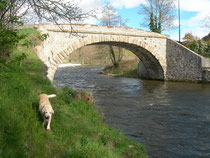 le pont de Garanou sur l'Ariège