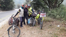 Meeting the first Nepali cyclist