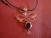 MA-0005 - Kette mit ovaler Perle