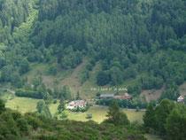 Vallée de Saint-Amarin les gîtes Le Celadon et L'Indigo