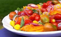 太陽をたっぷり浴びたトマト